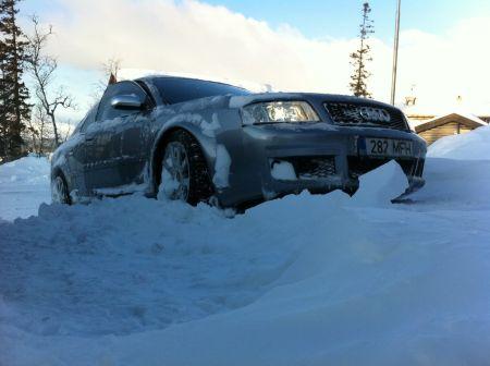 Audi RS6 2003 - отзыв владельца