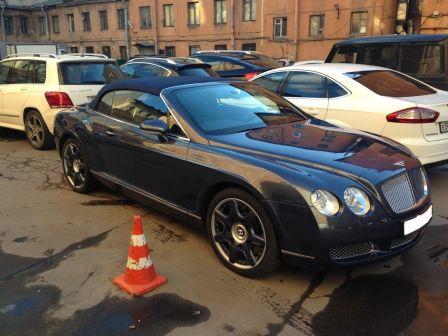 Bentley Continental GT 2008 - отзыв владельца