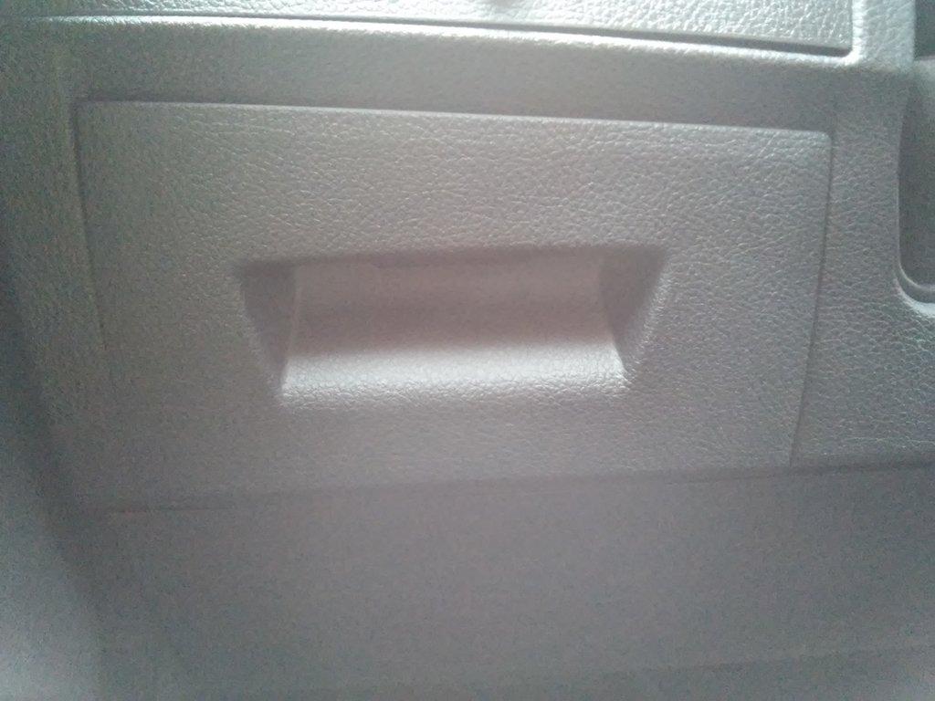 Установленный ящик на стороне водителя