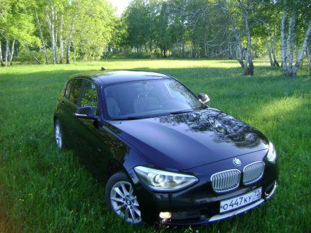 BMW 1-Series 2012 - отзыв владельца