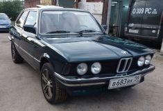 BMW 3-Series, 1981