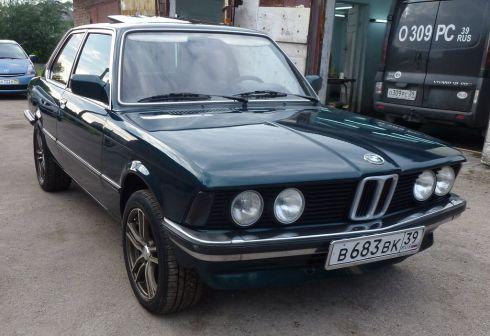 BMW 3-Series 1981 - отзыв владельца