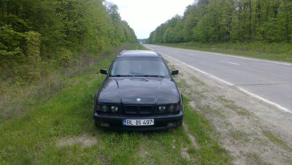 BMW 5-Series 1992 - отзыв владельца