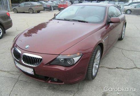 BMW 6-Series 2004 - отзыв владельца