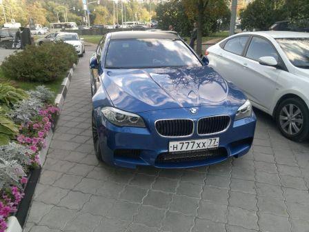 BMW M5 2014 - отзыв владельца