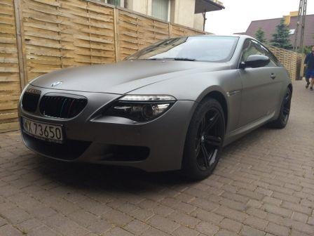 BMW M6 2008 - отзыв владельца