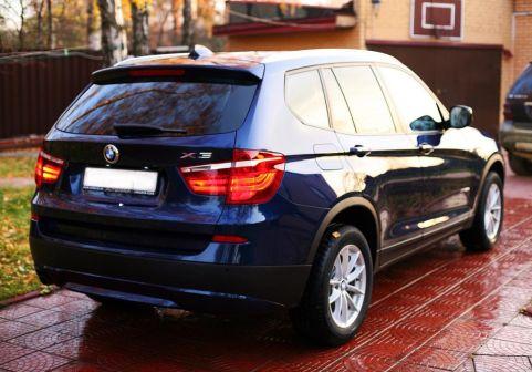 BMW X3 2011 - отзыв владельца