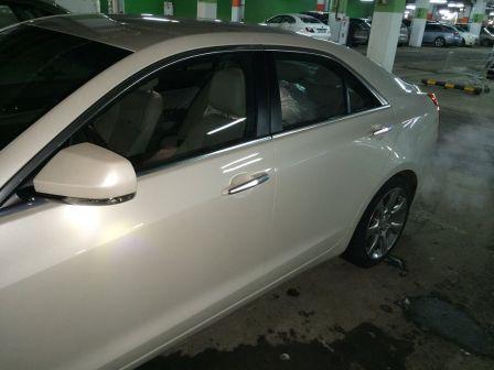 Cadillac ATS 2013 - отзыв владельца