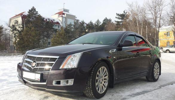 Cadillac CTS 2008 - отзыв владельца