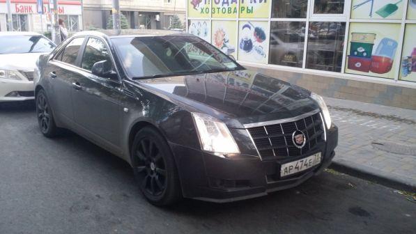 Cadillac CTS 2009 - отзыв владельца