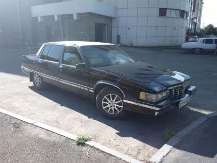 Cadillac Fleetwood 1991 - отзыв владельца