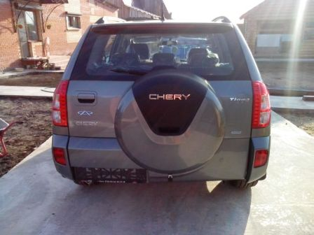 Chery Tiggo T11 2014 - отзыв владельца