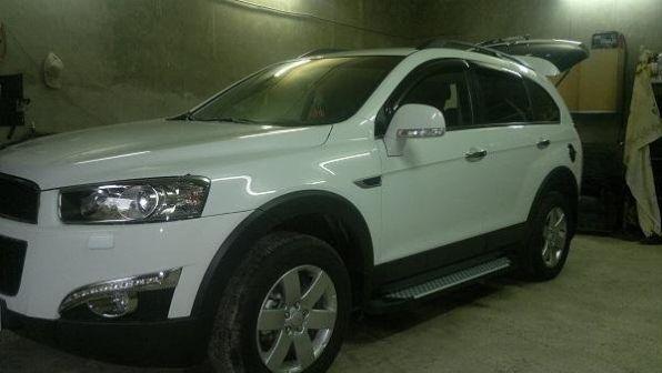 Chevrolet Captiva 2013 - отзыв владельца