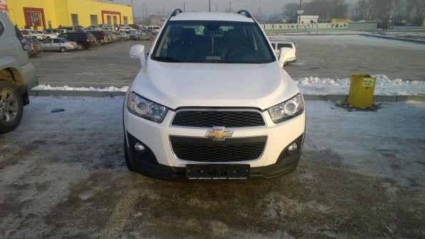 Chevrolet Captiva 2014 - отзыв владельца