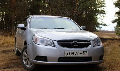 Chevrolet Epica 2011 отзыв автора | Дата публикации 30.11.2014.