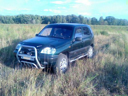 Chevrolet Niva 2003 - отзыв владельца