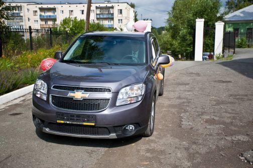 Chevrolet Orlando 2012 - отзыв владельца