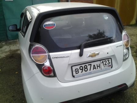 Chevrolet Spark 2011 - отзыв владельца