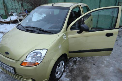 Chevrolet Spark 2007 - отзыв владельца