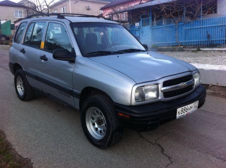Chevrolet Tracker 2001 - отзыв владельца