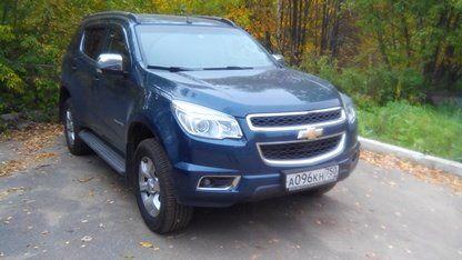 Chevrolet TrailBlazer 2014 - отзыв владельца