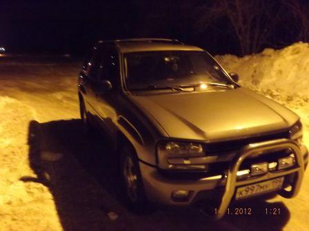 Chevrolet TrailBlazer 2008 - отзыв владельца