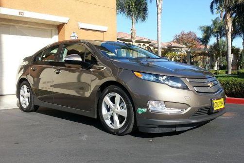 Chevrolet Volt 2013 - отзыв владельца