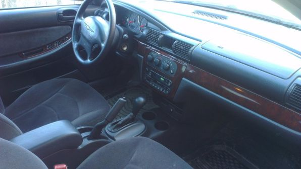 Chrysler Sebring 2001 - отзыв владельца