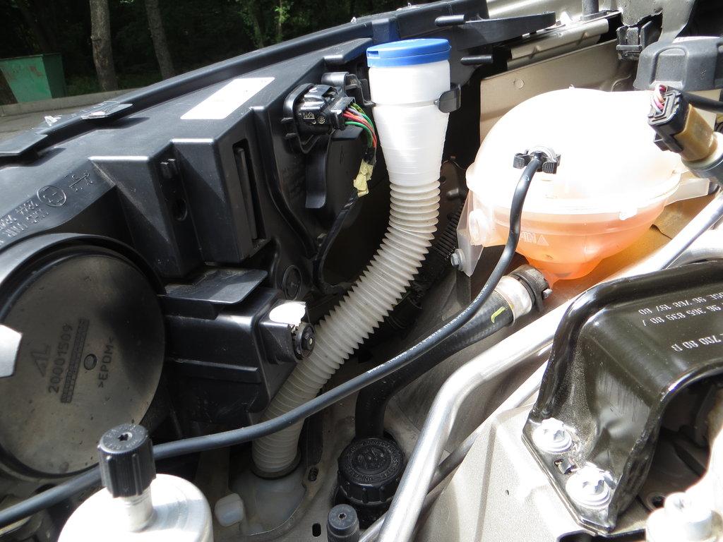 замена мотора в бачке омывателя ситроен с4