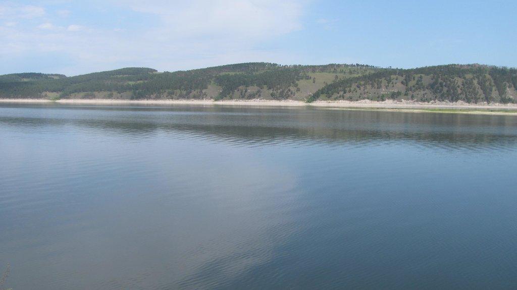 Река Ангара.(г.Свирск)
