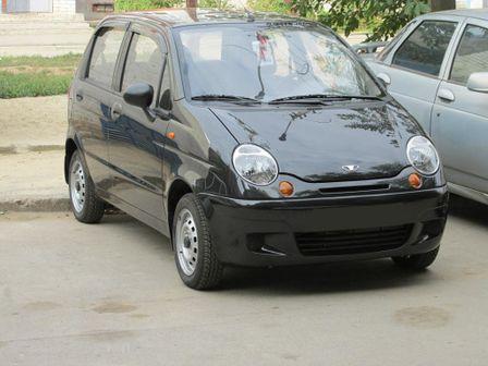 Daewoo Matiz 2013 - отзыв владельца