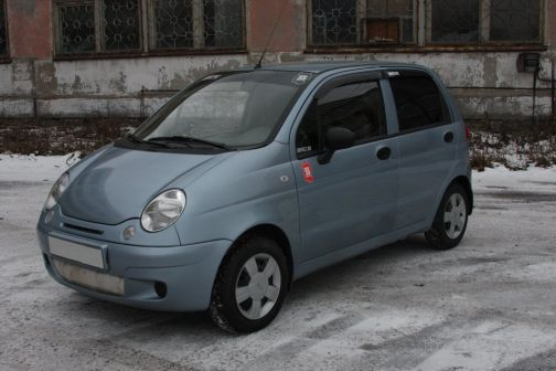 Daewoo Matiz 2011 - отзыв владельца