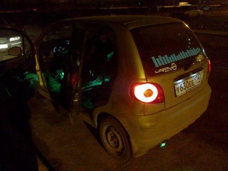 Daewoo Matiz 2008 - отзыв владельца