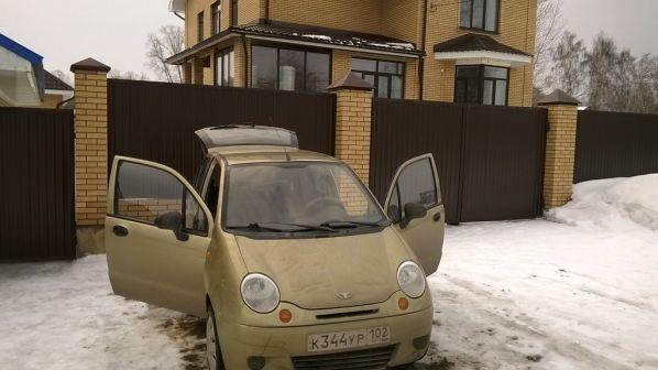 Daewoo Matiz 2009 - отзыв владельца
