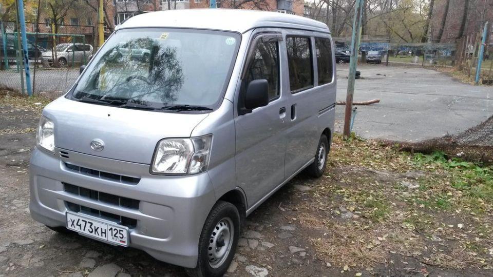Продажа Daihatsu Hijet (Дайхатсу Хайджет) в России год от 2017
