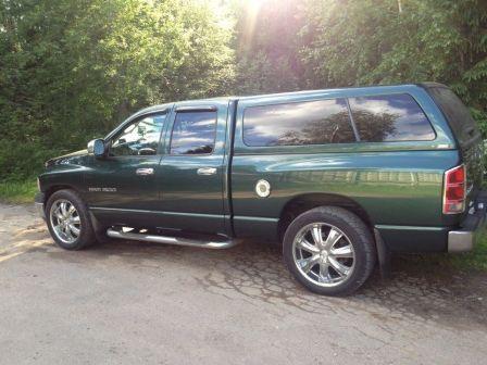Dodge Ram 2002 - отзыв владельца