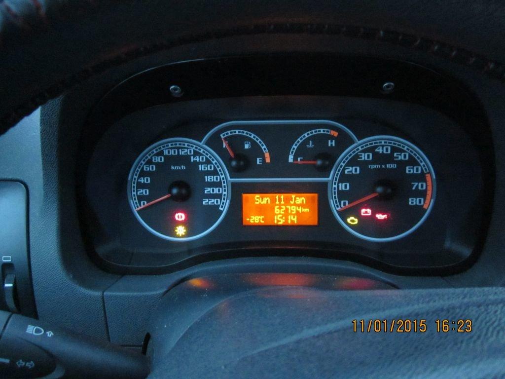 Обычная температура запуска авто. Подогрев не ставлю.