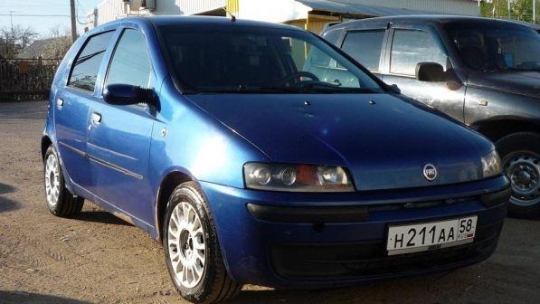 Fiat Punto 2000 - отзыв владельца