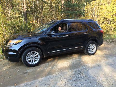 Ford Explorer 2014 - отзыв владельца