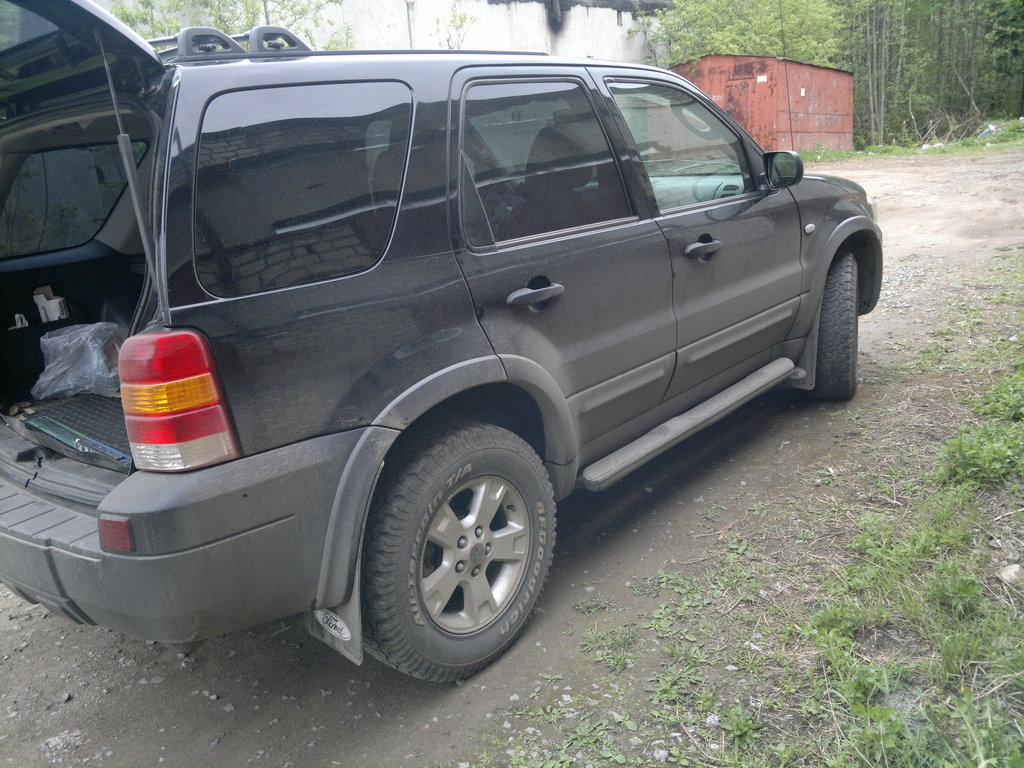ford maverick, 2.3 2006 г.расход