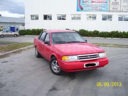Ford Tempo 1993 - отзыв владельца