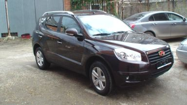 Geely Emgrand X7, 2013