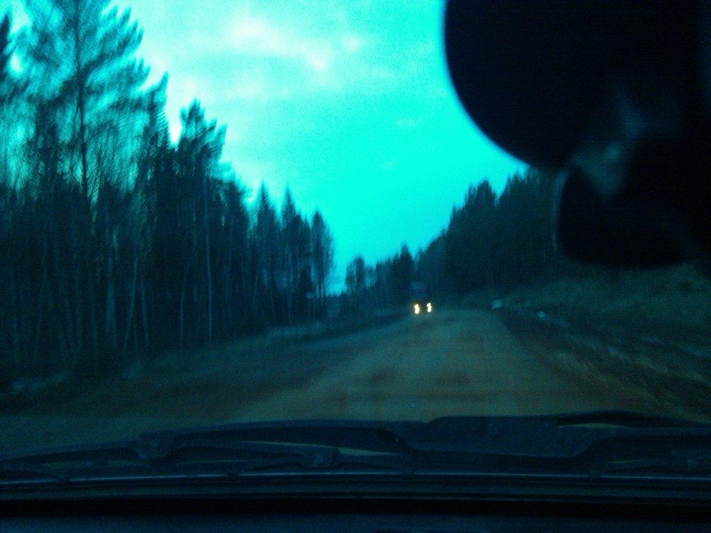 На трассе М-53 все также не асфальта !