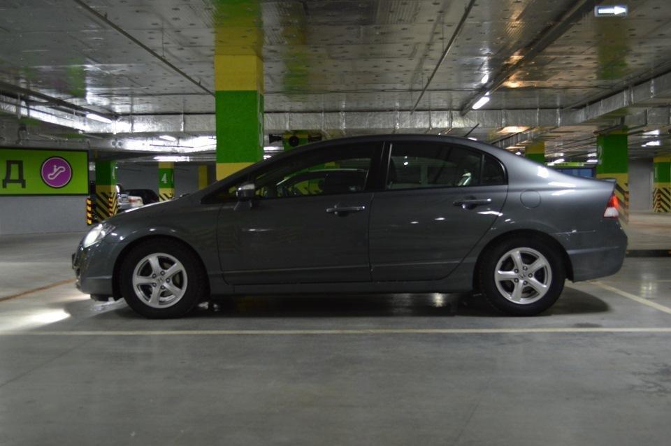 honda civic hybrid 2007 расход топлива