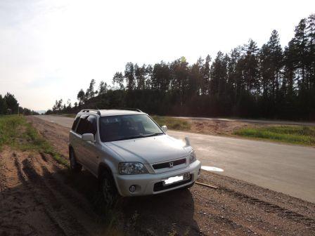 Honda CR-V 2000 - отзыв владельца