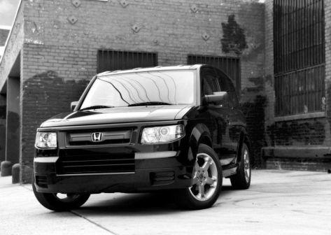 Honda Element 2007 - отзыв владельца