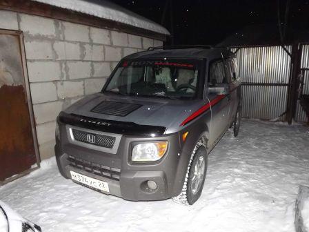 Honda Element 2003 - отзыв владельца
