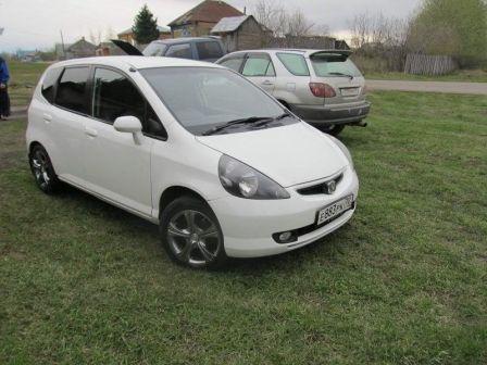 Honda Fit 2001 - отзыв владельца