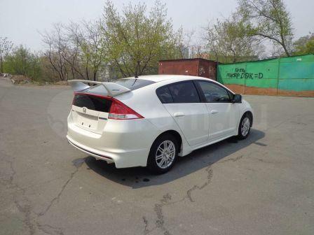 Honda Insight 2011 - отзыв владельца