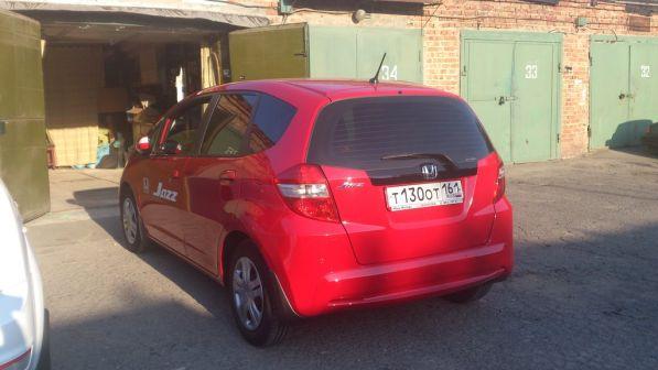 Honda Jazz 2011 - отзыв владельца